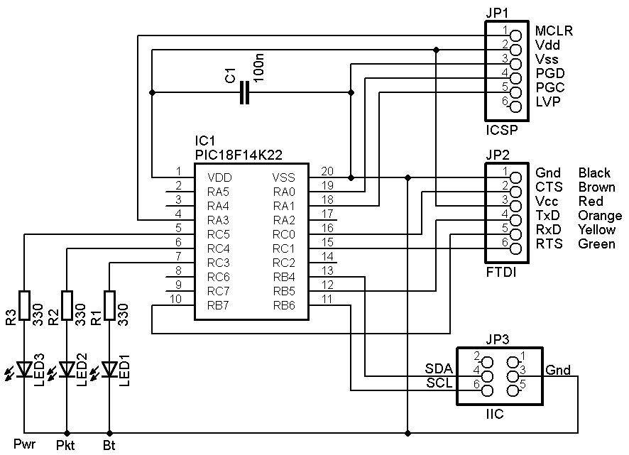 Monitor the IIC bus at up to 400 kHz in real time  A Microchip